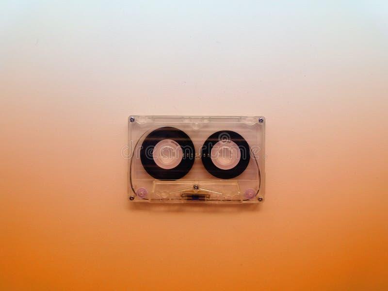 记录器的卡型盒式录音机 免版税库存图片