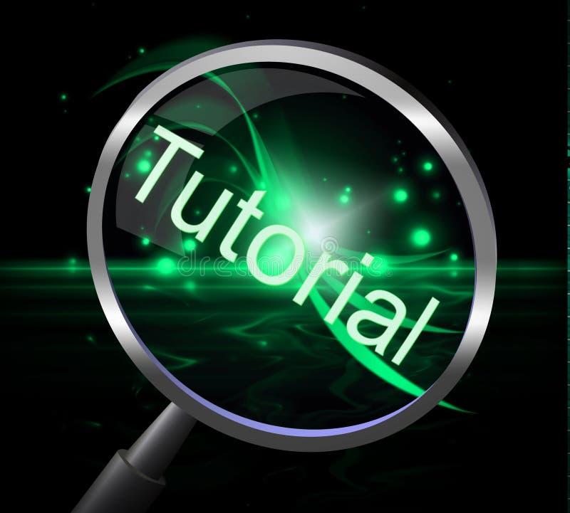 讲解放大器表明教育的研究和教育 库存例证