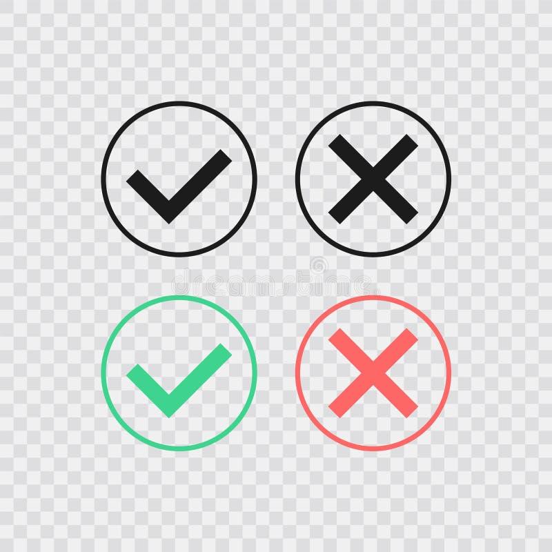 讲话泡影喜欢dos和donts 平的简单的趋向现代略写法图形设计 清单元素的概念和 皇族释放例证
