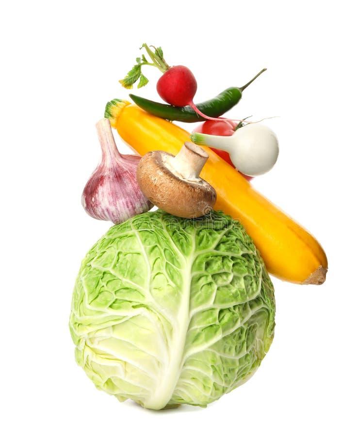 许多不同的可口菜 免版税库存图片
