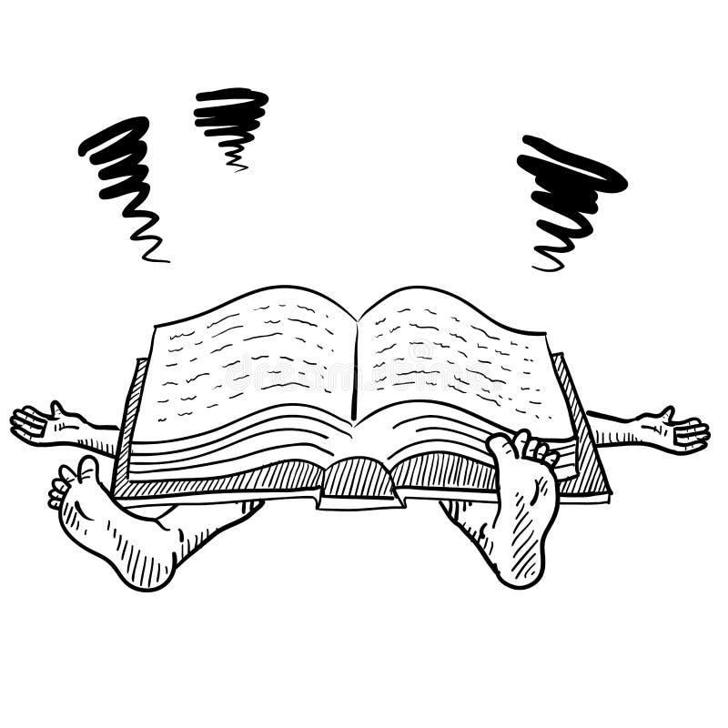 许多个家庭作业向量 库存例证