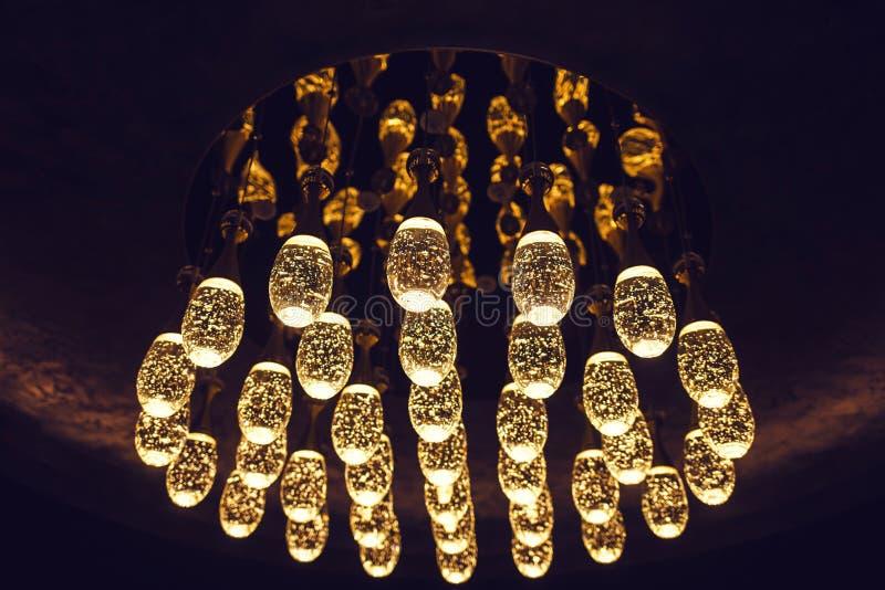 许多明亮的时髦的光 库存图片