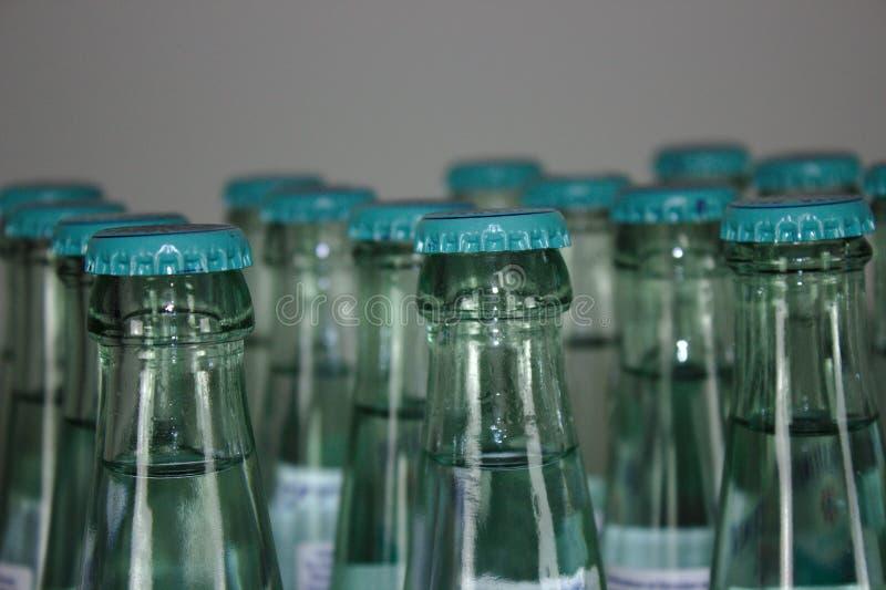 许多水瓶 库存图片