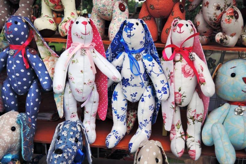 许多玩偶,从俄罗斯的纪念品 库存照片