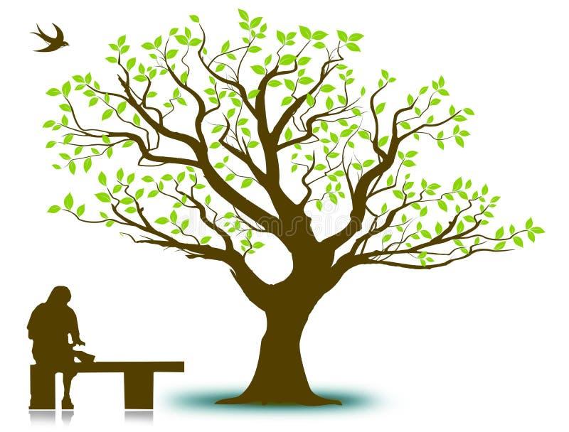 许多生态的图象我的投资组合结构树向量 库存照片