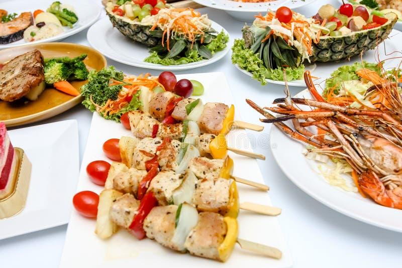 许多食物 免版税图库摄影