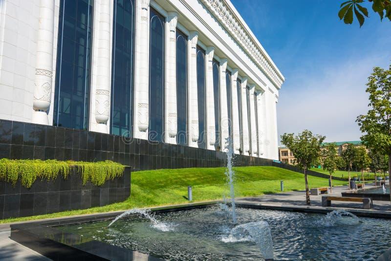 论坛宫殿在塔什干,乌兹别克斯坦 库存图片