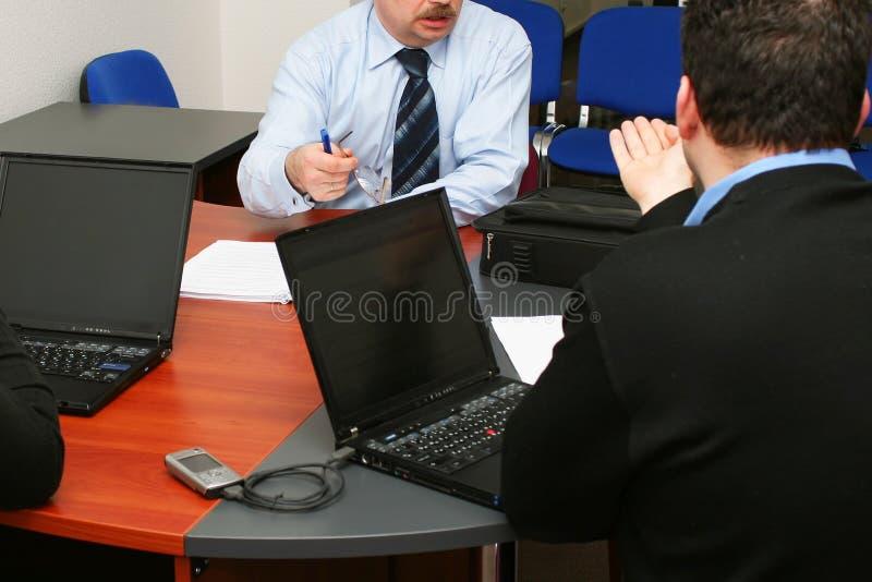论述会议 免版税库存照片