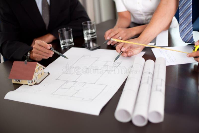 论述设计组 免版税库存图片