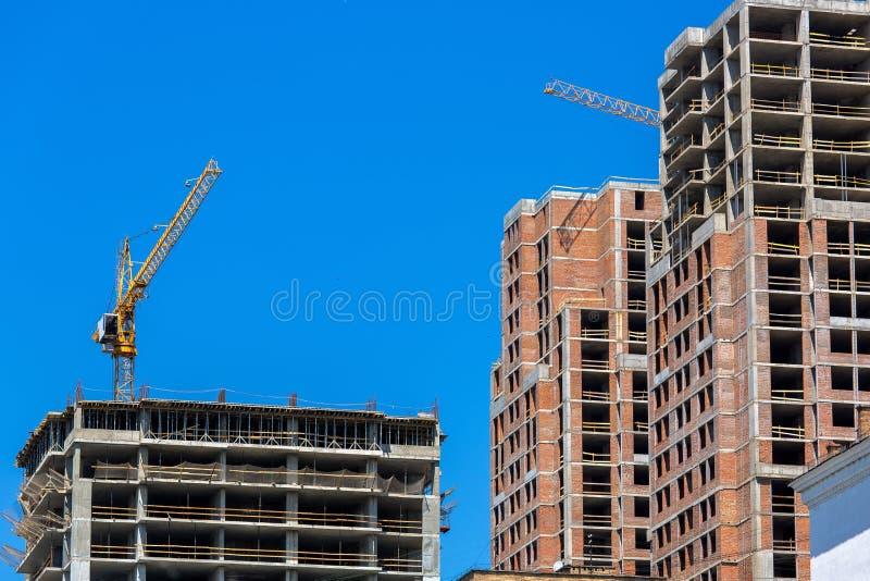 建设中地板整体大厦 免版税图库摄影