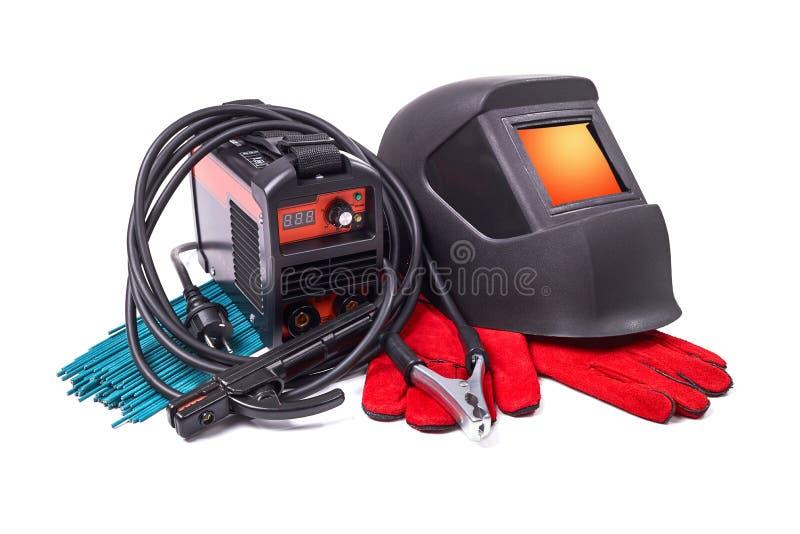 设备和防护服装焊接的 免版税库存照片