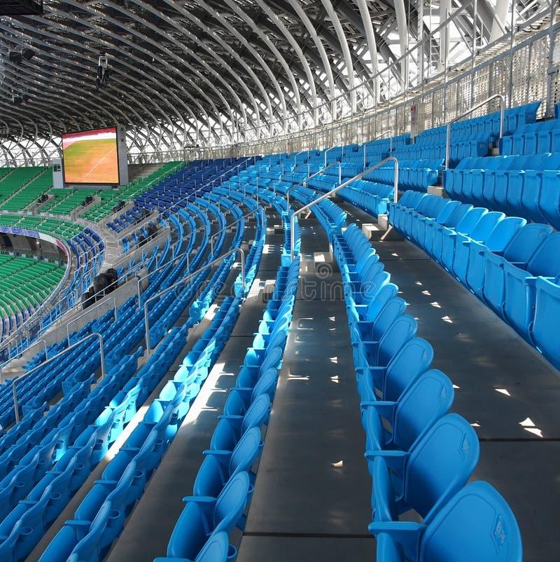设备大现代体育运动 免版税库存照片