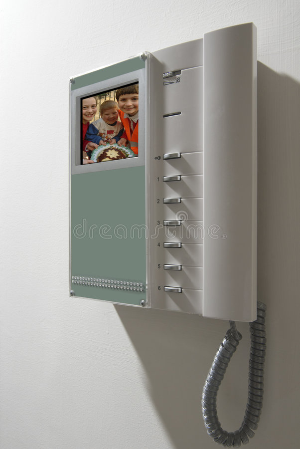 设备对讲机 库存照片