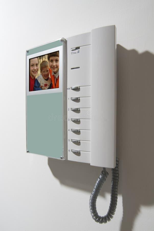 设备对讲机 免版税库存照片