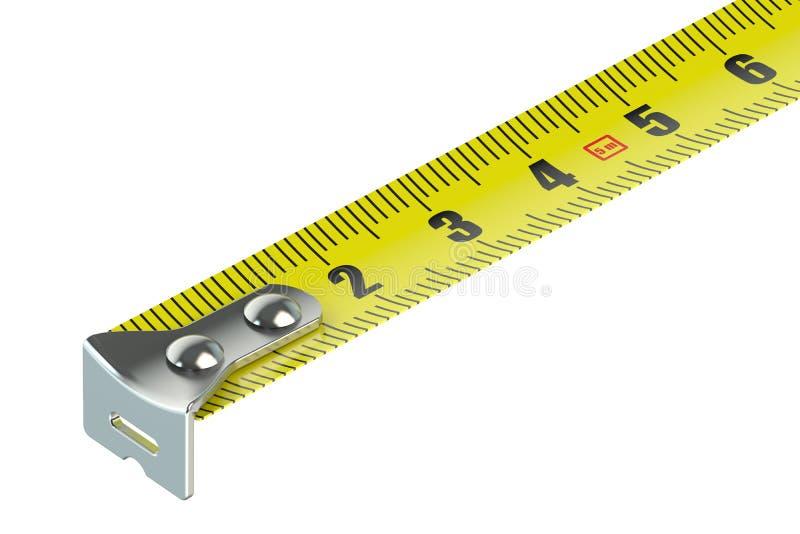 设备打算长度评定评定磁带 皇族释放例证