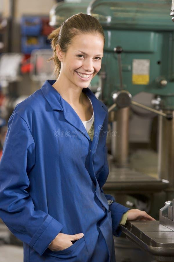 设备机械师工作 免版税库存图片