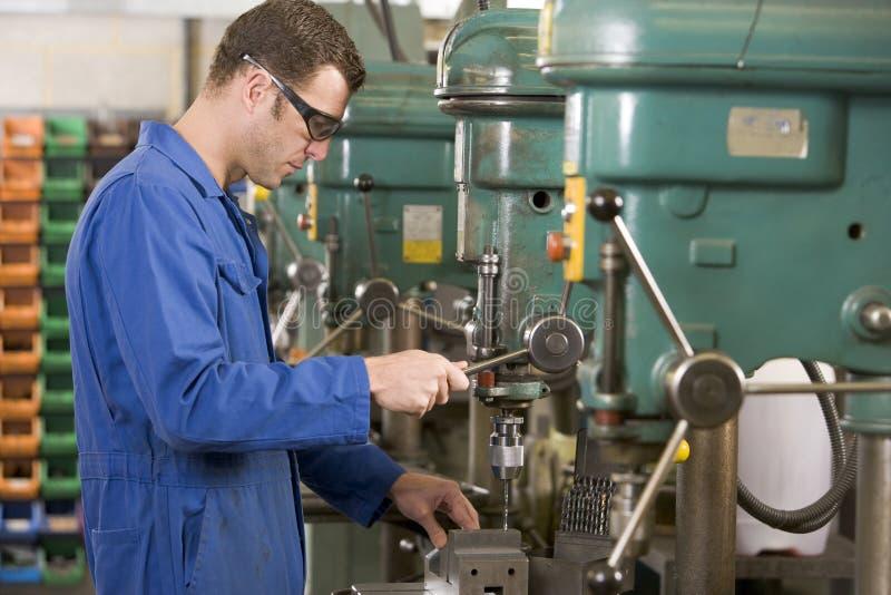 设备机械师工作 免版税图库摄影