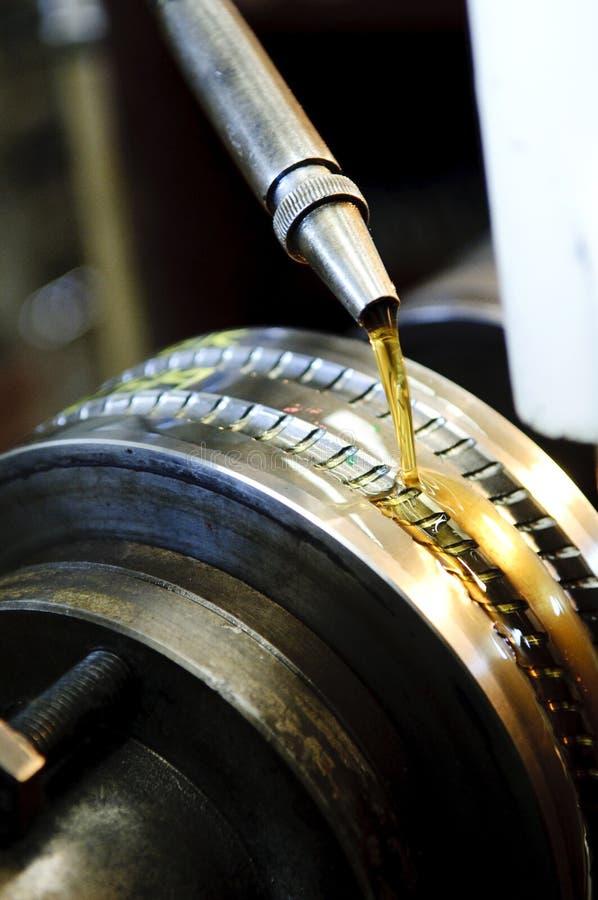 设备油 免版税库存图片