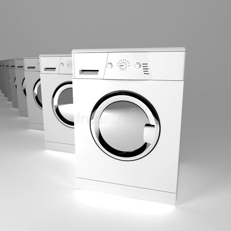 设备洗涤物 皇族释放例证