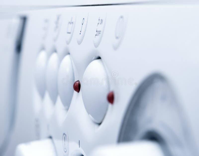 设备洗涤的白色 库存图片