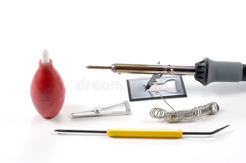 设备焊接 库存照片