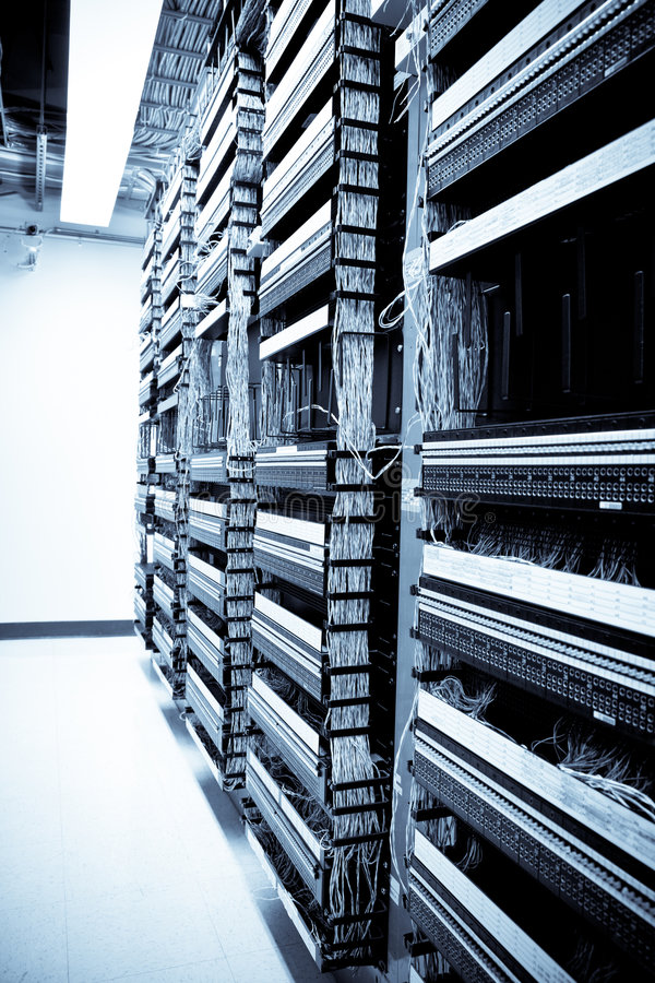 设备网络 免版税库存图片