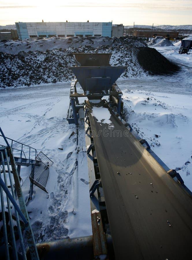 设备行业最新的石油精炼区域 库存图片
