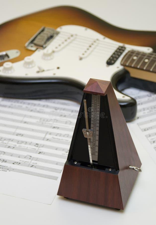设备音乐 免版税库存照片