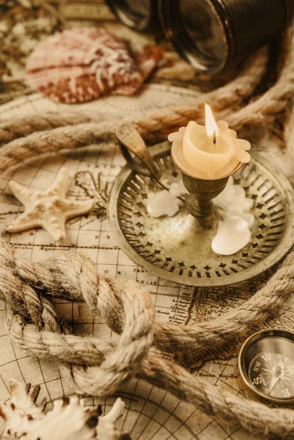 设想在古色古香的样式:冒险 库存照片