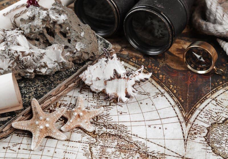 设想在古色古香的样式:冒险 免版税库存照片