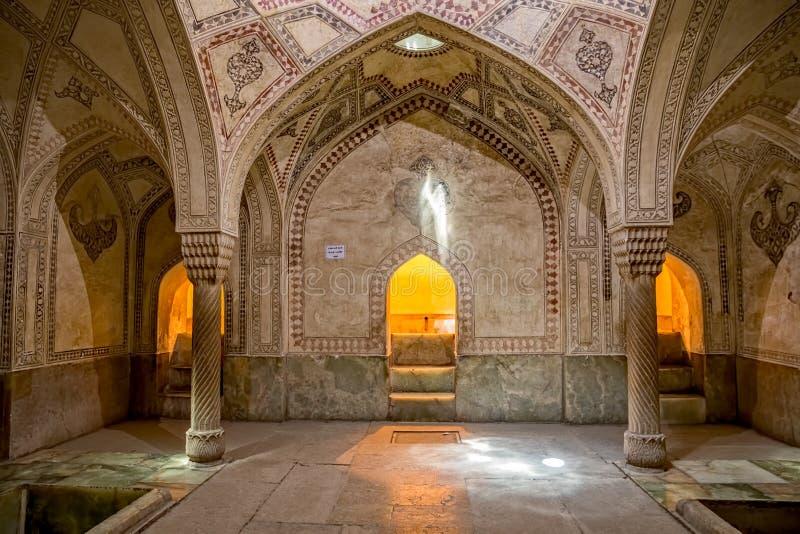 设拉子城堡室装饰 免版税图库摄影