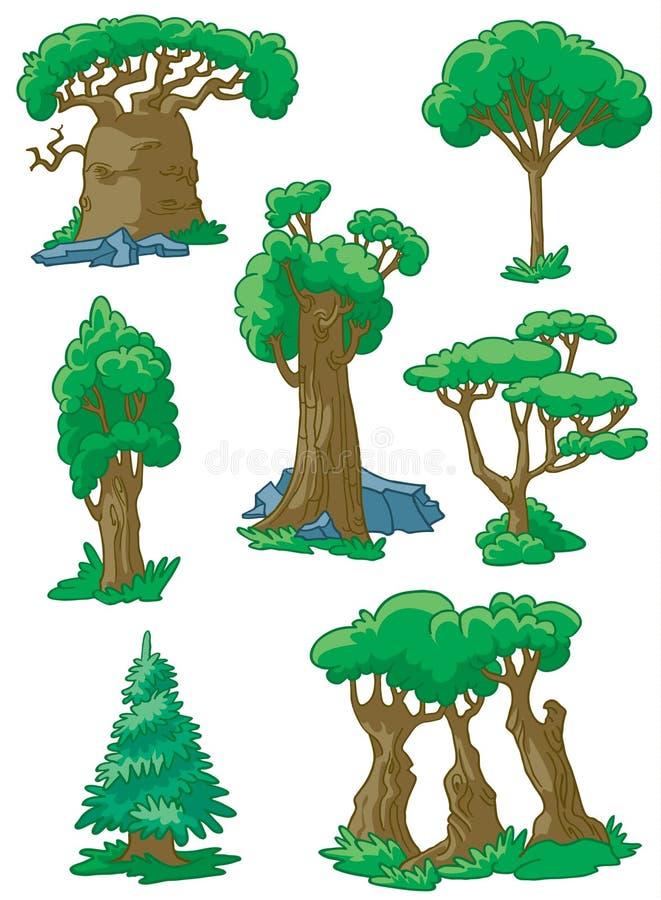 设置结构树 库存例证
