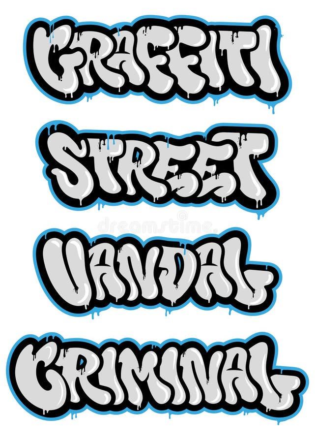 设置街道画 库存例证