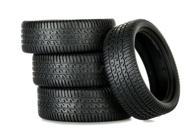 设置轮胎 免版税图库摄影