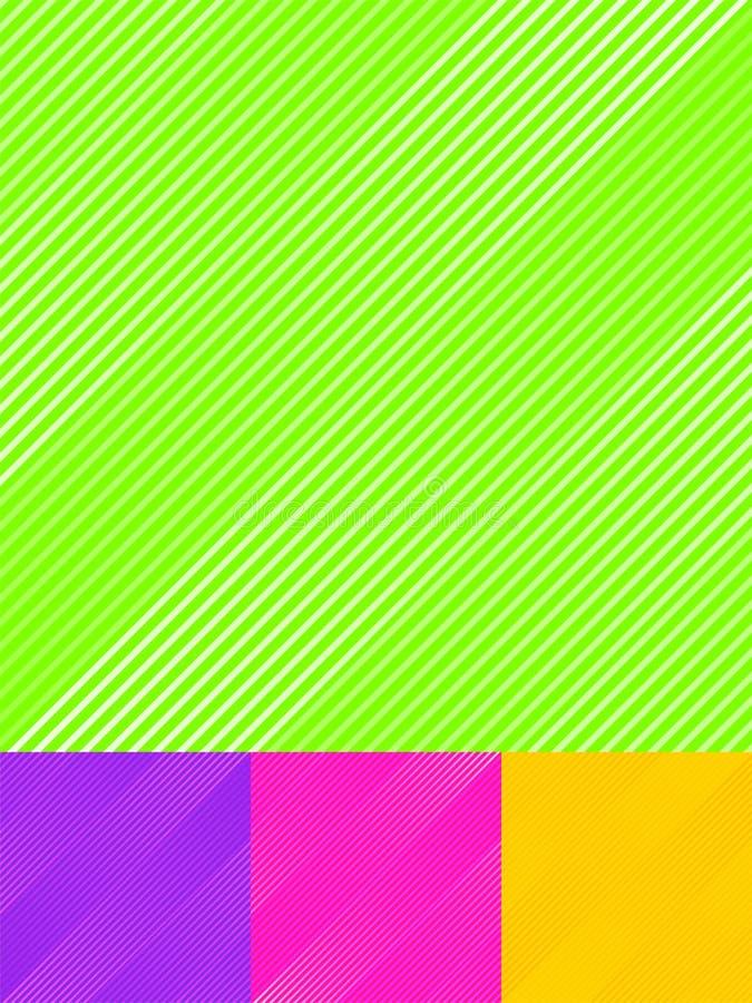 设置镶边对角线仿造五颜六色的明亮的颜色背景和纹理 皇族释放例证