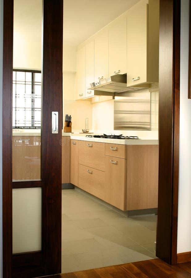 设计内部厨房 免版税库存图片