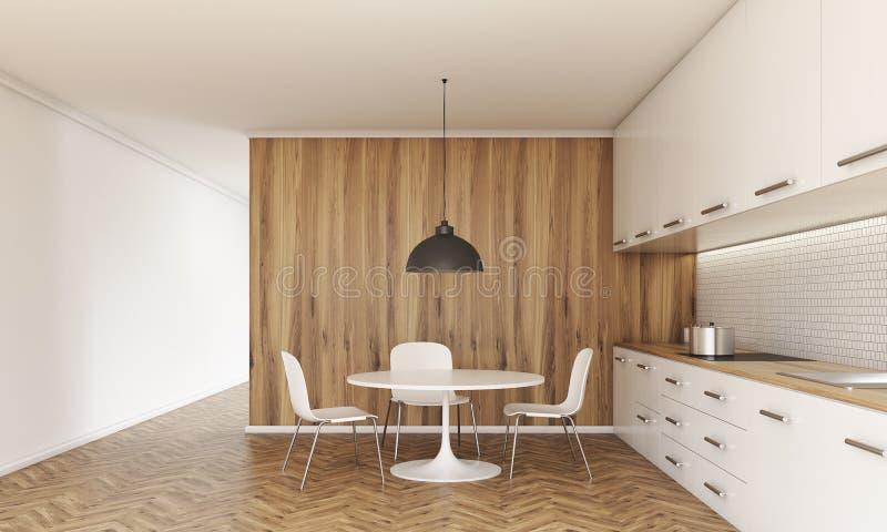 设计内部厨房 库存例证