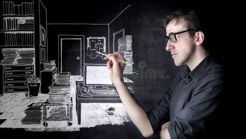 设计员内部 免版税库存照片