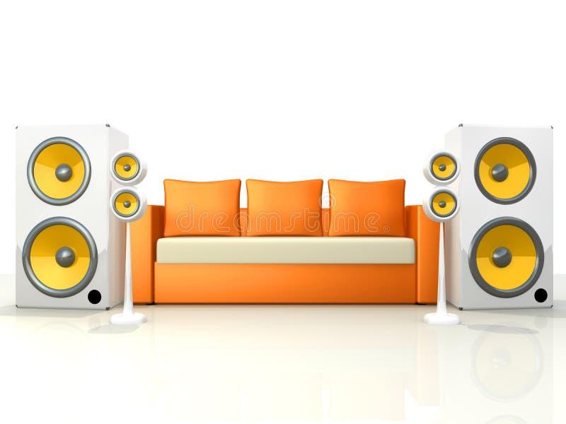 设计声音 向量例证