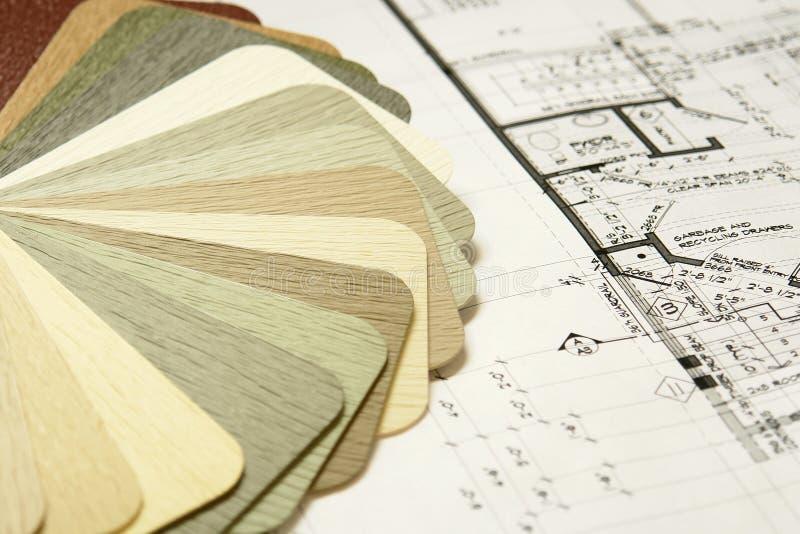 设计家庭房屋板壁乙烯基 库存图片