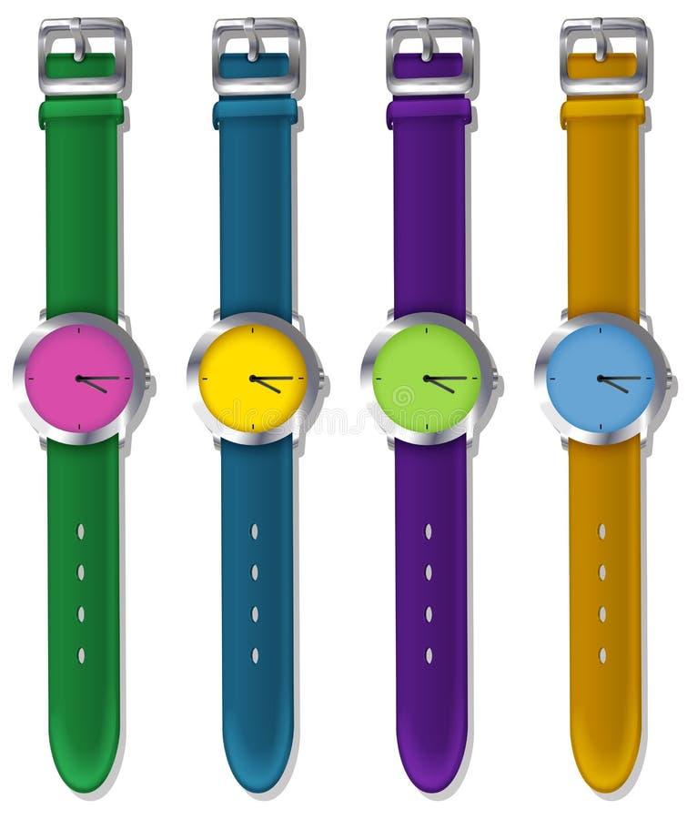 设计师手表 皇族释放例证