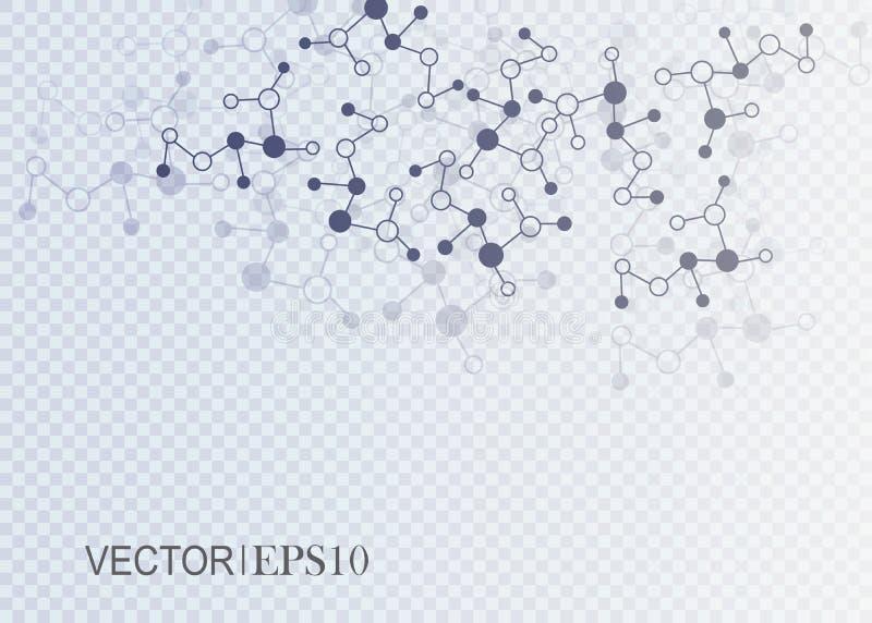 设计技术网络backgound 3d概念连接数齿轮机构 向量例证