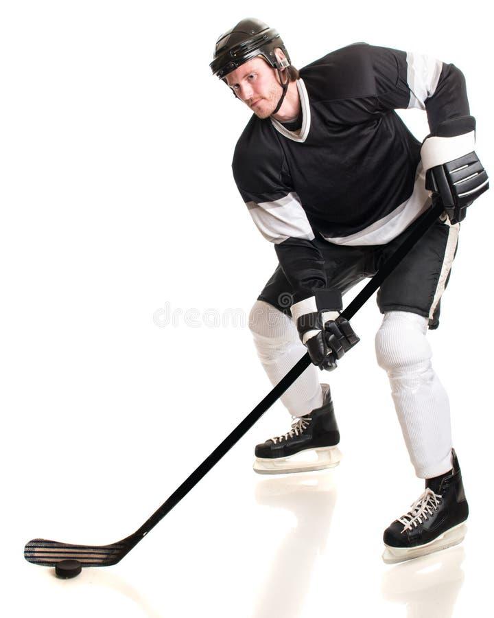 设计曲棍球冰例证球员您 库存图片