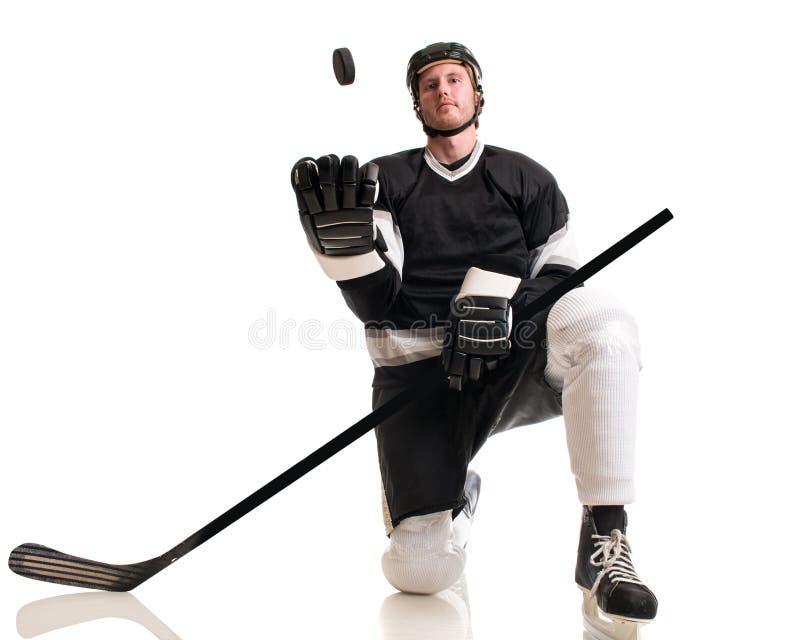 设计曲棍球冰例证球员您 免版税库存照片