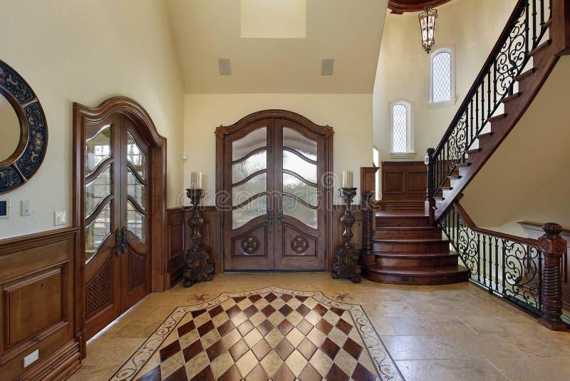 设计楼层休息室 免版税库存图片