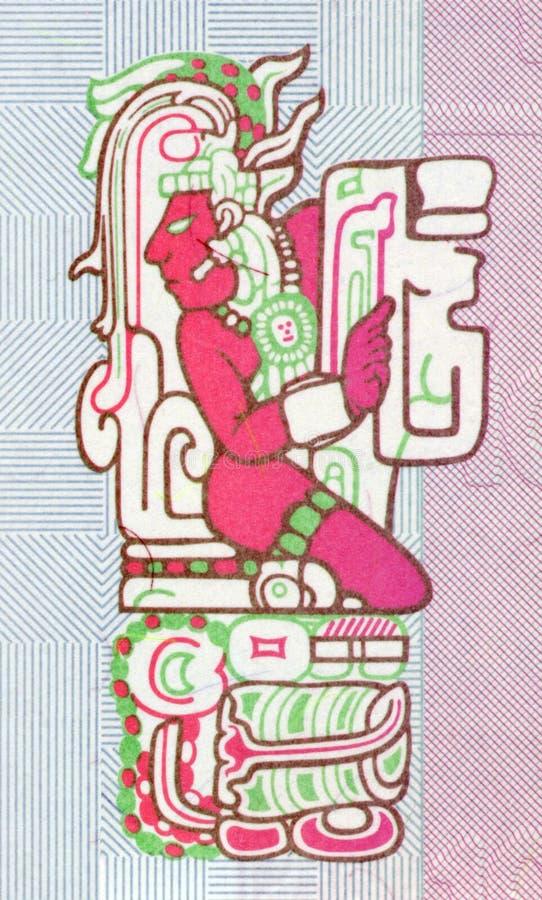 设计玛雅人 免版税库存照片