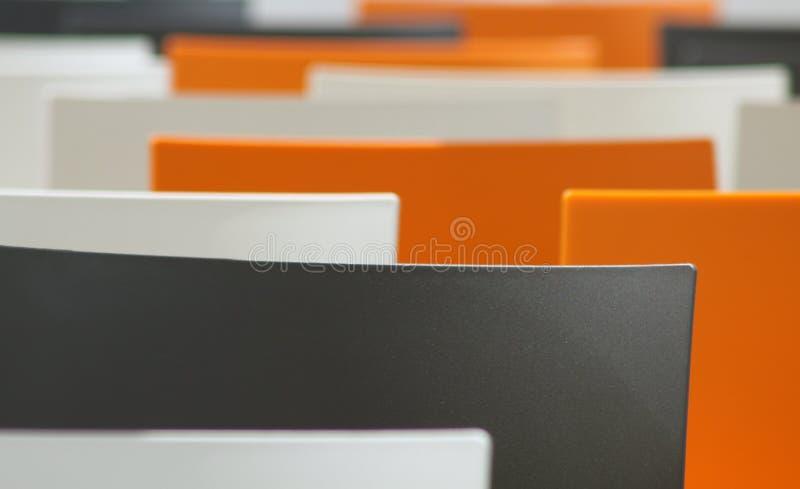 设计现代塑料 图库摄影