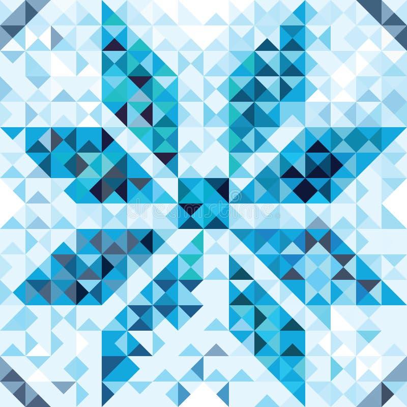 设计的几何背景 库存例证
