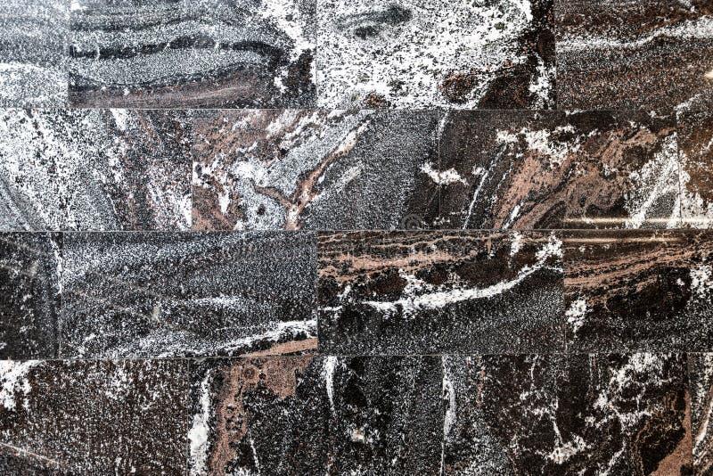 设计的大理石被仿造的纹理背景 免版税库存照片
