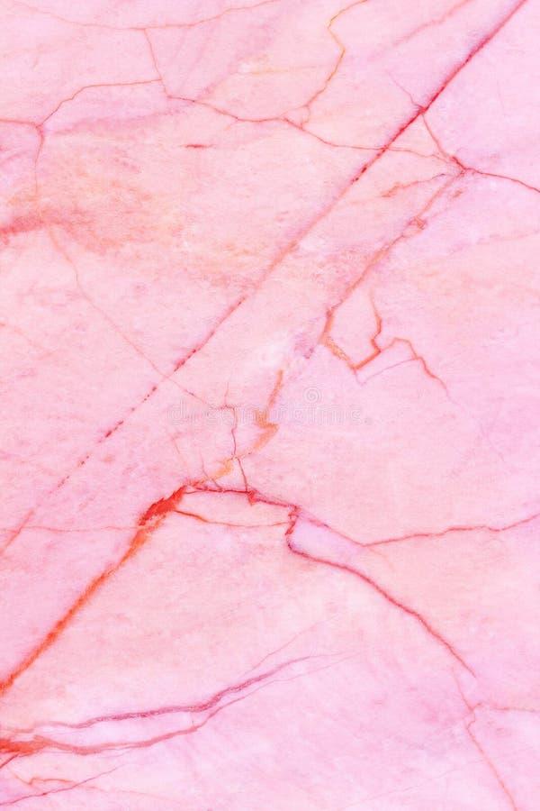 设计的桃红色大理石纹理背景空白 图库摄影